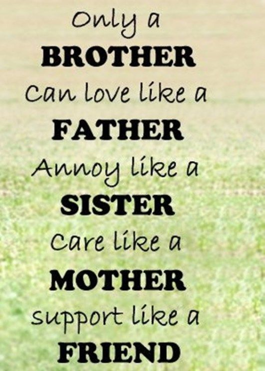 Only A Brother Can Brother Quotes