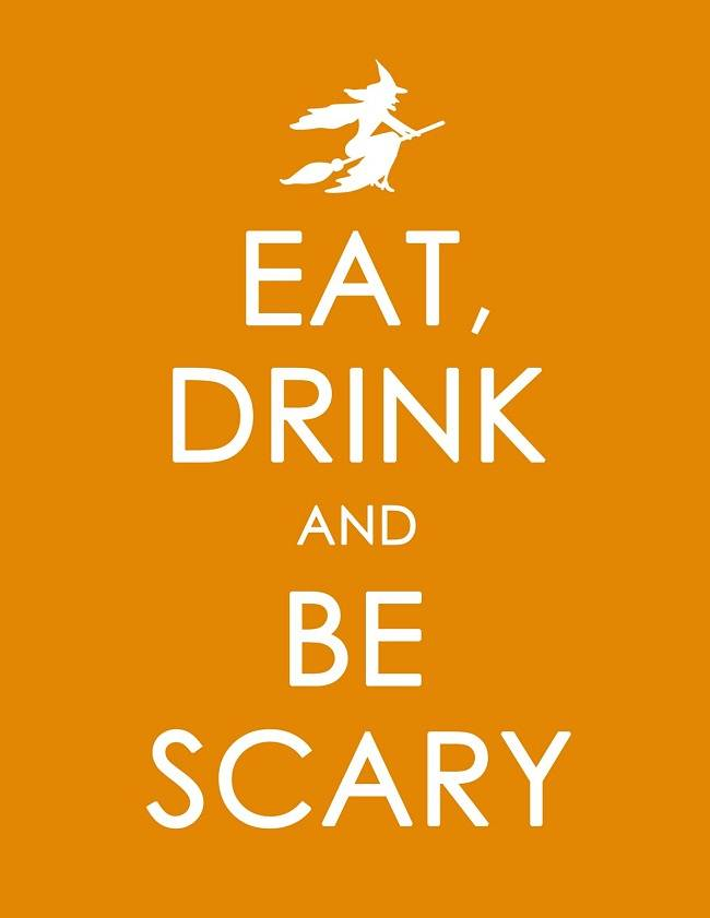 eat drink scary