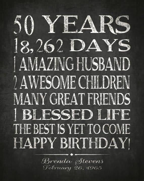 25 Top 50th Birthday Quotes and Sayings   QuotesBae
