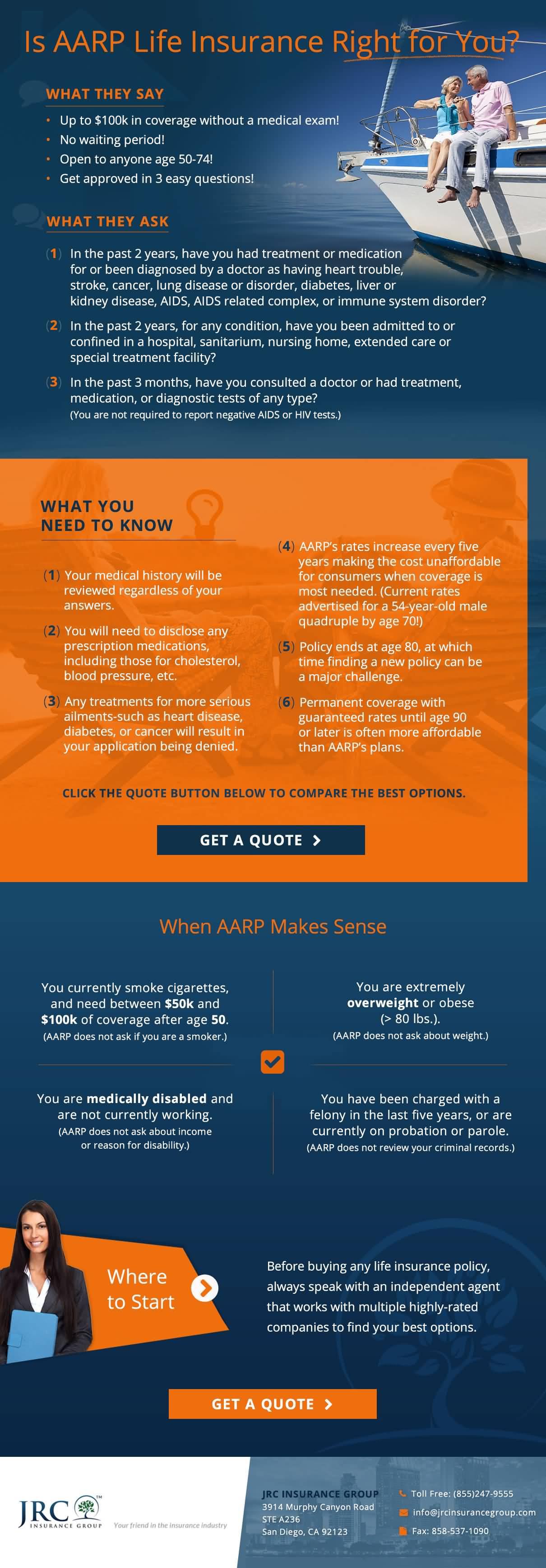Aarp Life Insurance Quote 07 | QuotesBae