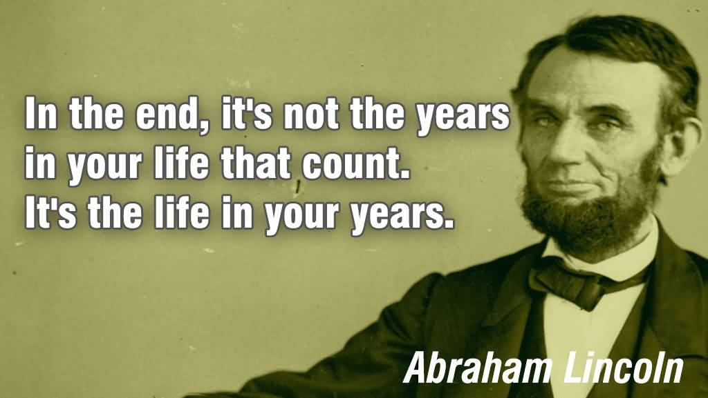 Abraham Lincoln Quotes On Life 12