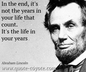 Abraham Lincoln Quotes On Life 16