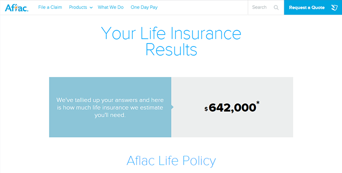 Aflac Life Insurance Quote 13