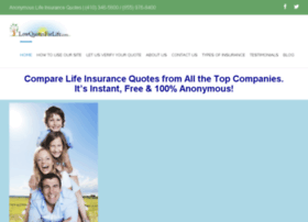 Anonymous Life Insurance Quotes 05