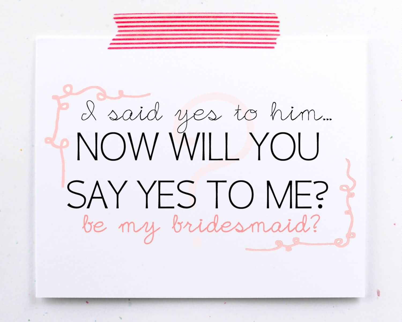 Asking Bridesmaids Quotes Meme Image 16