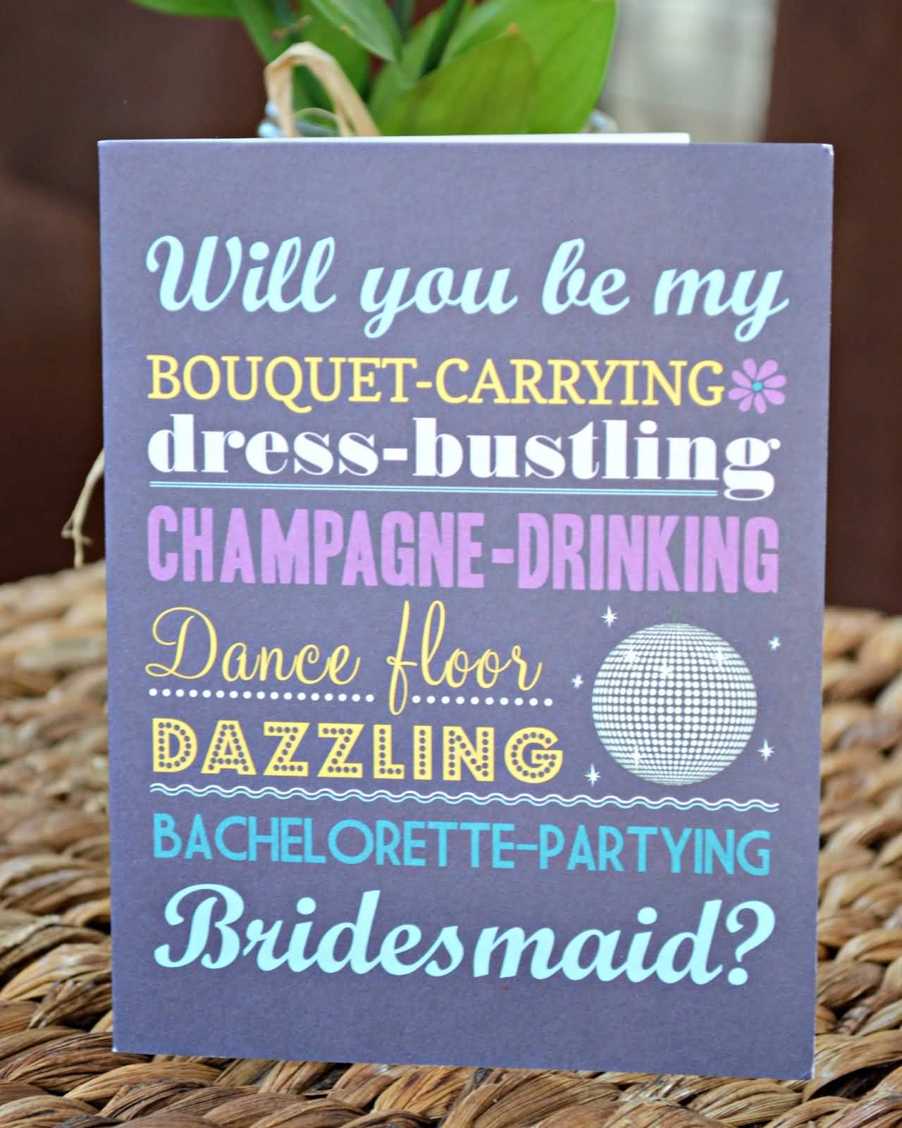 25 Asking Bridesmaids Quotes and Sayings Collection | QuotesBae