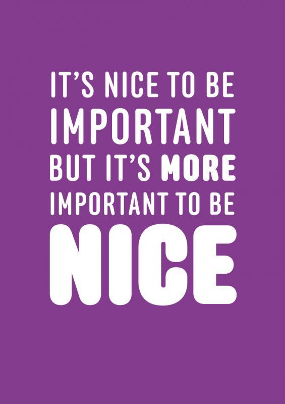 Be Nice Quotes Meme Image 09