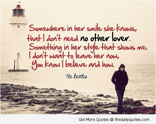 Beatles Quotes Love And Sayings About Feeling Love QuotesBae Stunning Beatles Quotes Love