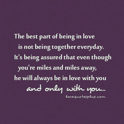 Being In Love Quotes 13