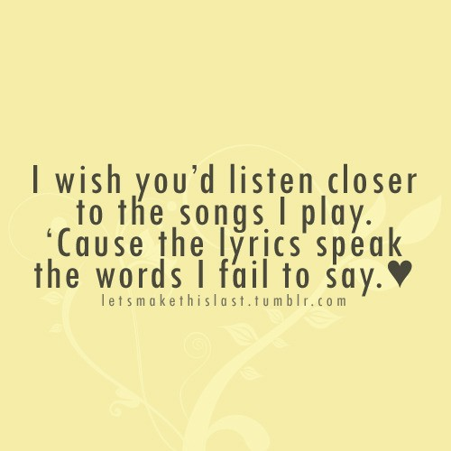 Best Song Lyric Quotes Meme Image 05