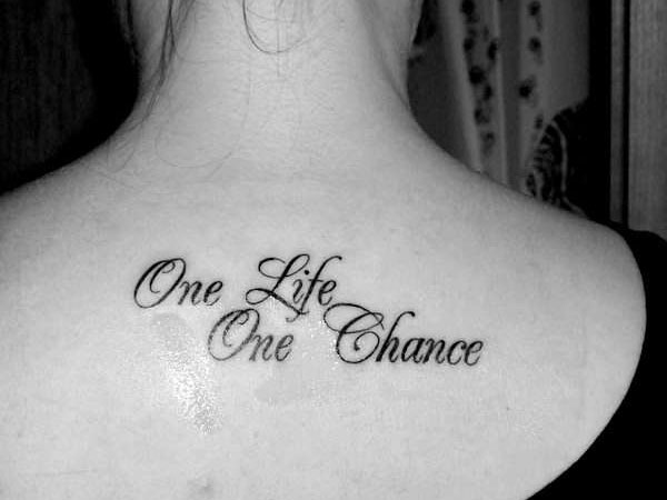 Best Tattoo Quotes About Life 11