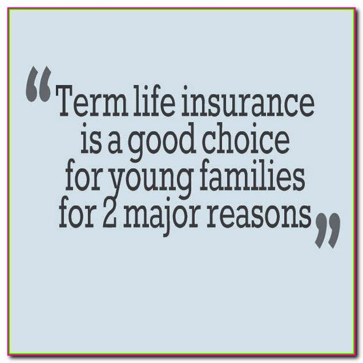 Free Term Life Insurance Quotes: 20 Best Term Life Insurance Quotes And Sayings