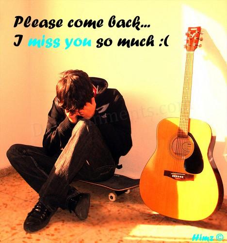 Come Back Please Quotes Meme Image 11