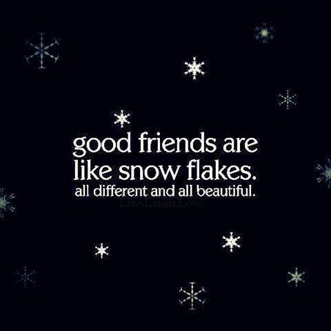 Cute Snow Quotes Meme Image 04