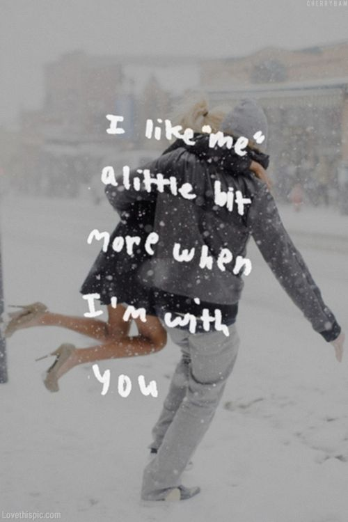 Cute Snow Quotes Meme Image 06