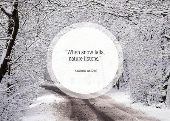 Cute Snow Quotes Meme Image 11