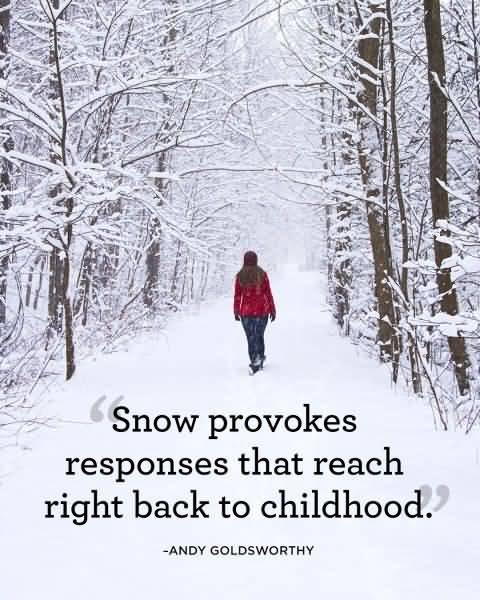 Cute Snow Quotes Meme Image 15