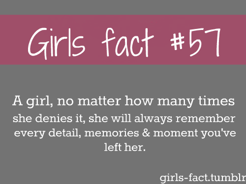 Facts About Girls Quotes Meme Image 13