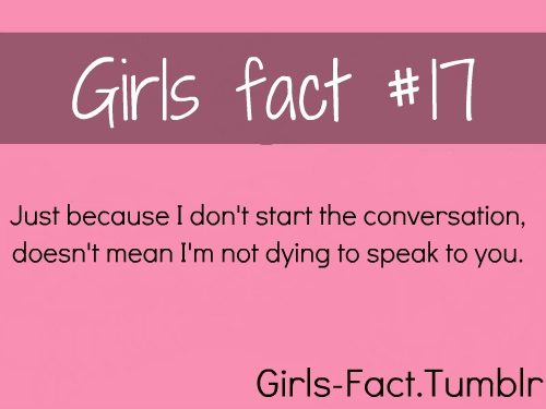 Facts About Girls Quotes Meme Image 17