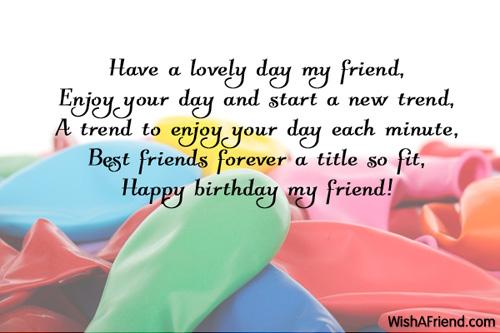 Friend Birthday Quotes Meme Image 09