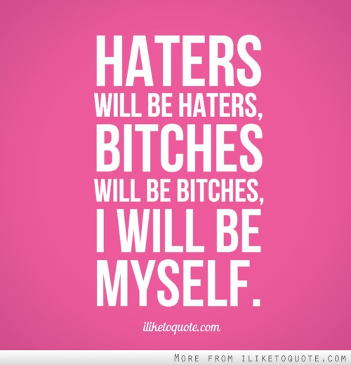 Funny Hater Quotes Meme Image 11 | QuotesBae