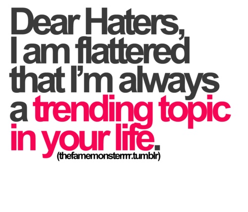 Funny Hater Quotes Meme Image 14