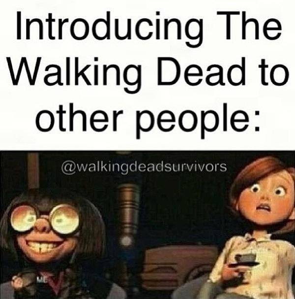 Funny Walking Dead Quotes Meme Image 07 | QuotesBae