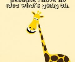 Giraffe Quotes Funny Meme Image 01