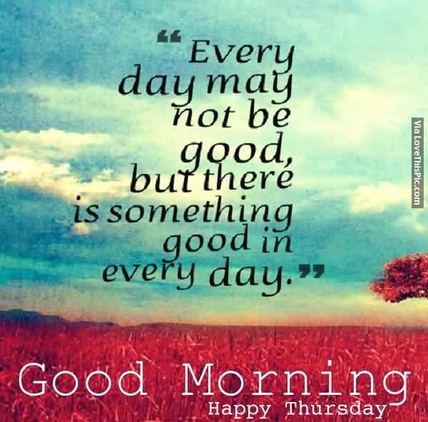 Good Morning Thursday Quotes Meme Image 09