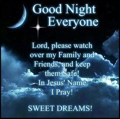 Good Night Prayers Quotes Meme Image 01