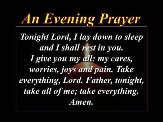 Good Night Prayers Quotes Meme Image 02