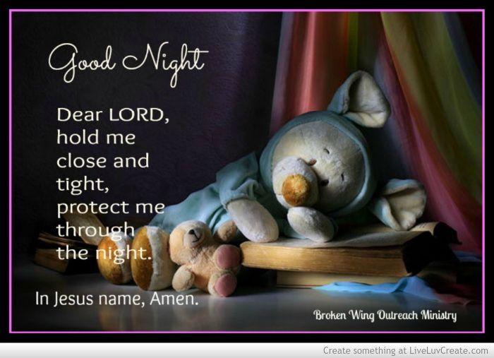 Good Night Prayers Quotes Meme Image 05