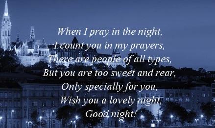 Good Night Prayers Quotes Meme Image 06