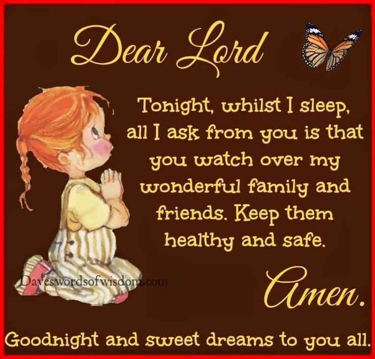 Good Night Prayers Quotes Meme Image 11
