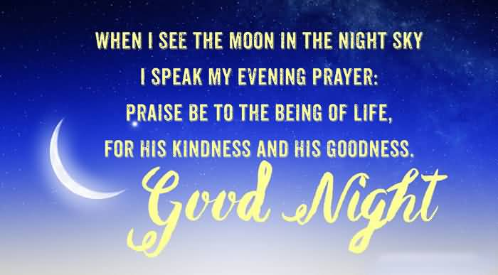 Good Night Prayers Quotes Meme Image 13