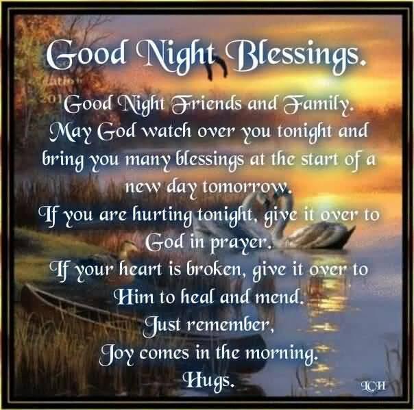 Good Night Prayers Quotes Meme Image 14