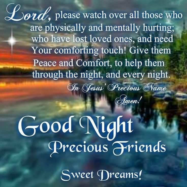 Good Night Prayers Quotes Meme Image 16