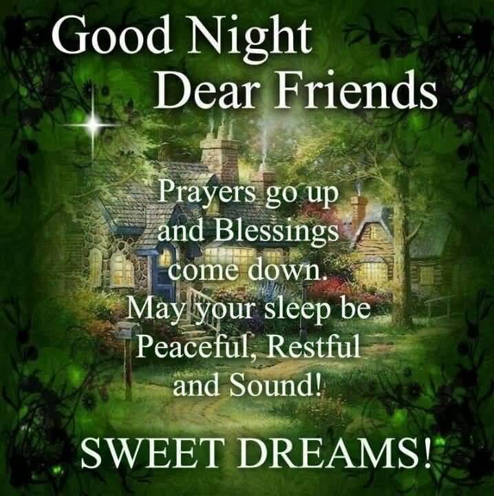 Good Night Prayers Quotes Meme Image 18