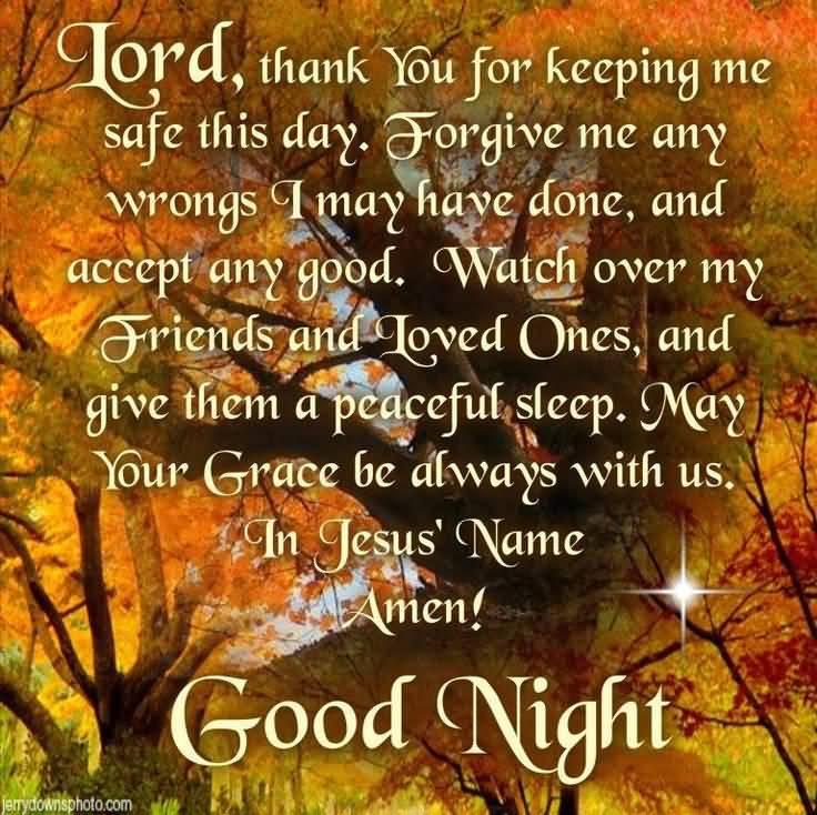 Good Night Prayers Quotes Meme Image 19