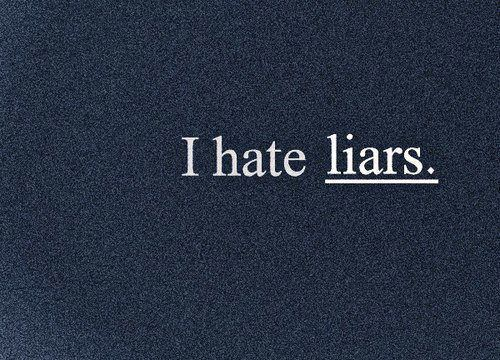 Hate Liars Quotes Meme Image 14
