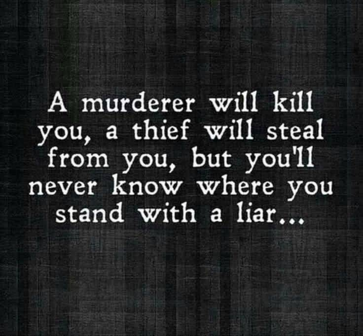 Hate Liars Quotes Meme Image 17