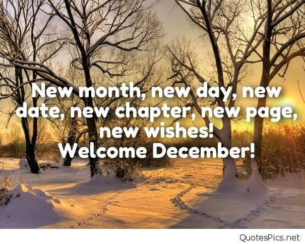 Hello December Quotes Meme Image 14