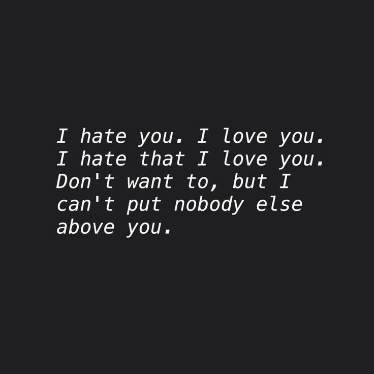 25 I Hate You I Love You Quotes Sayings & Photos | QuotesBae