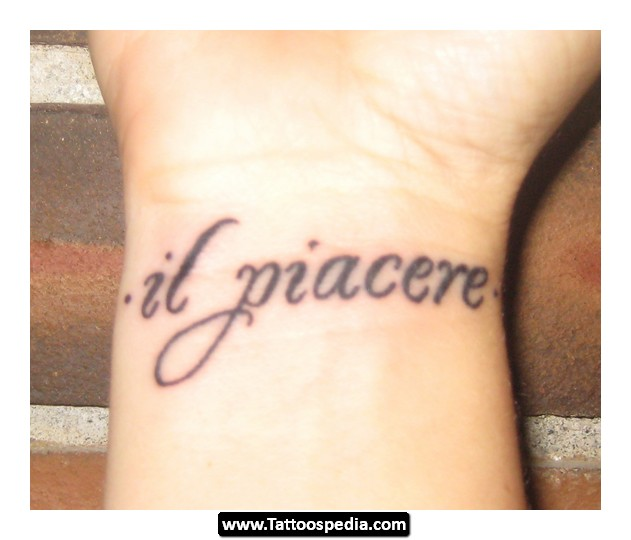 25 Italian Tattoo Quotes Sayings Images & Pictures | QuotesBae