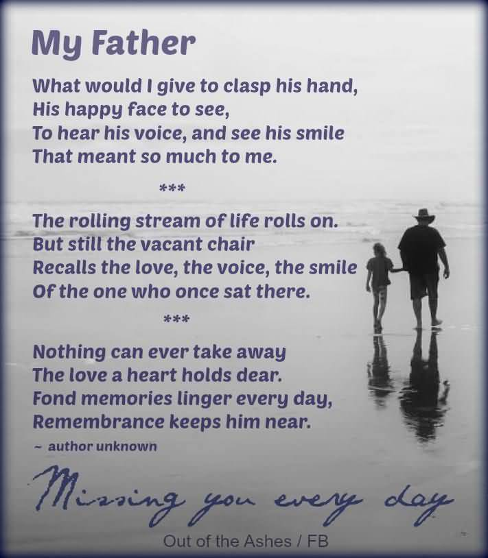 25 Losing A Father Quotes And Sayings Collection