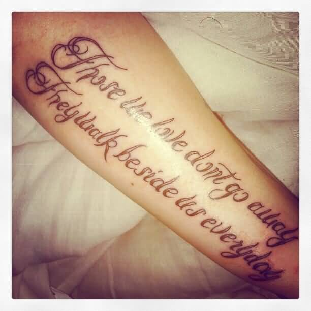 Loving Memory Tattoo Quotes Meme Image 17