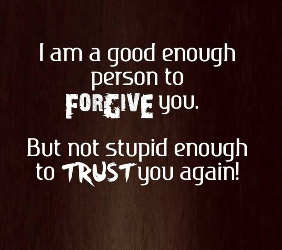 Never Trust Quotes Meme Image 20