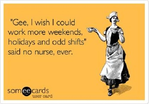 Night Shift Nurse Quotes Meme Image 11