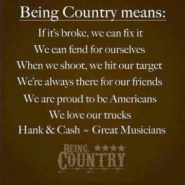 Quotes About Being Country Meme Image 06