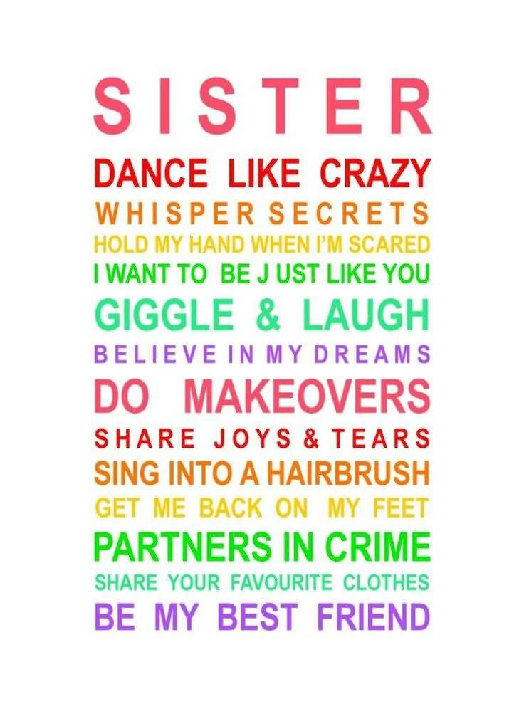 Quotes About Friend Like A Sister Meme Image 14